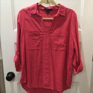 Oversized women's shirt